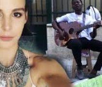 Aslışah Alkoçlar'dan Sokak Müzisyenine Bin Dolar
