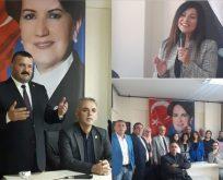 Akın ve Uluköylü İYİ Parti Çayırova'yı Ziyaret Etti.