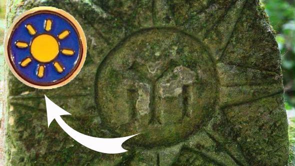 Logo tartışmalarına bu fotoğrafla yanıt verdi