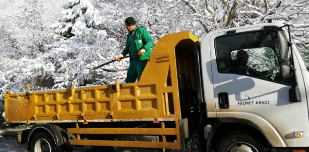 Buzlanmaya Karşı Tuzlama Çalışması