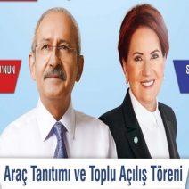 Kılıçdaroğlu ve Akşener 'Üreten Belediye' için geliyor