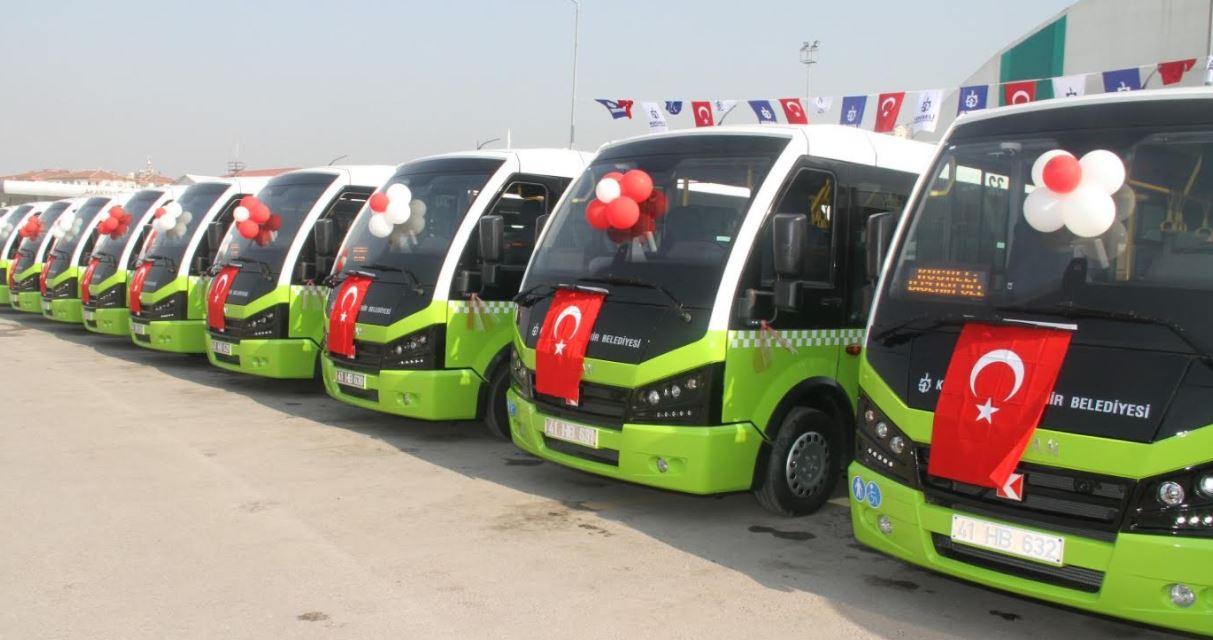 24 yeni jest otobüs hizmete alındı