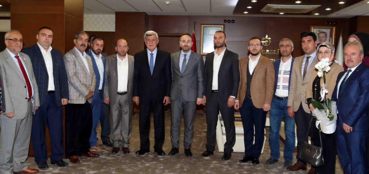 Karaosmanoğlu Ak Parti Çayırova'yı Ağırladı