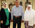 Karaosmanoğlu, Zeynep başkanı ağırladı