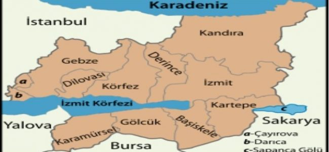 Kocaeli'nin nüfusu 2018'de 12.2 arttı
