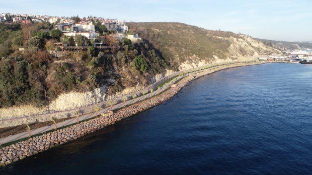 Darıca sahili ile Gebze Eskihisar sahilini birleştirmiş olacak