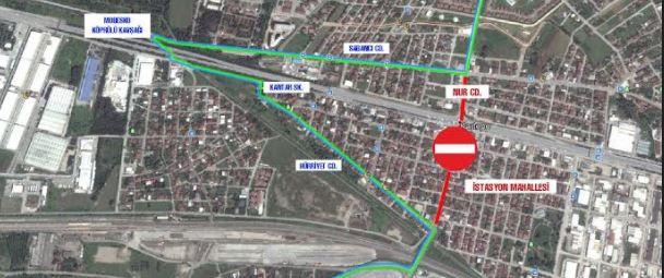 Köseköy Köprülü Kavşağı'na trafik düzenlemesi