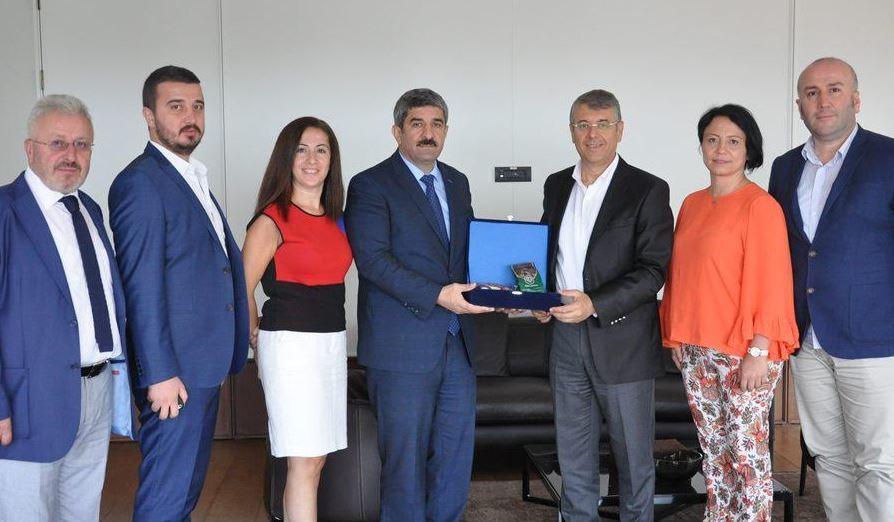 Türkiye Sigorta Birliği Başkanı Çağlar'a ziyaret