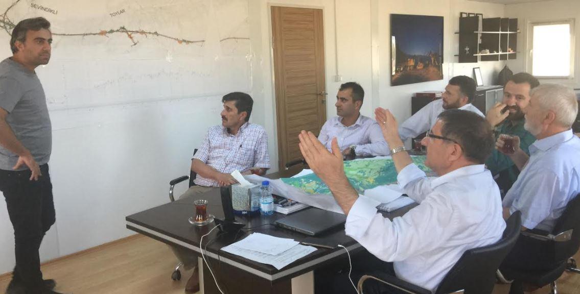 Kuzey Marmara Otoyolu Projesini İnceledi