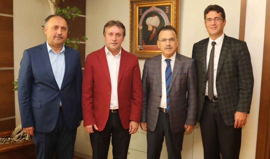 Kaymakam Gözen'den Başkan Demirci'ye Ziyaret
