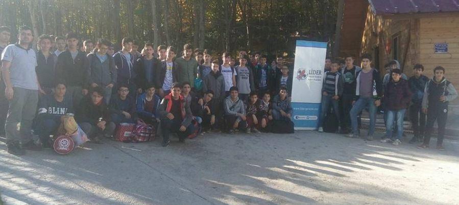 Lider Gençlik Diriliş Kampında