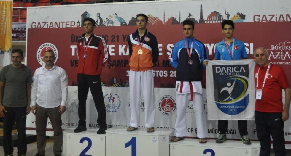 Darıcalı Sporcular 5 Madalya ile Döndü