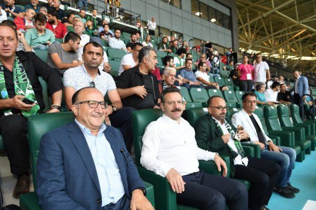 Vali Aksoy, Kocaelispor – Fethiyespor maçında