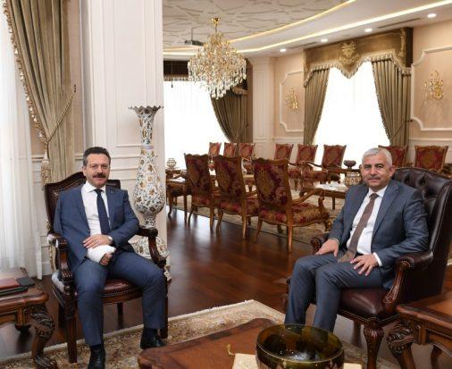 Genel Sekreter Gündoğdu'dan Vali Aksoy'a Ziyaret