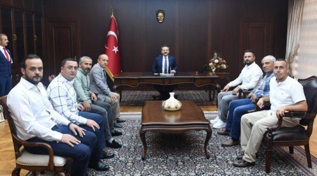 Gebze Ziraat Odasından Vali Aksoy'a Ziyaret