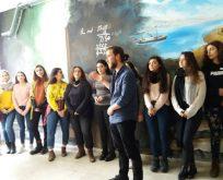 KOÜ'lü Öğrenciler Lise Duvarını Süsledi