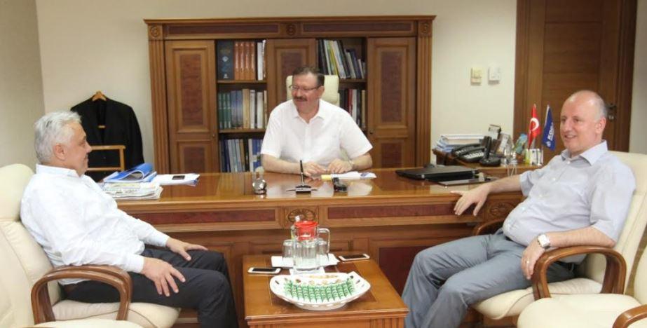 Milli Eğitim Müdürü Çelik'ten, Bayram'a ziyaret
