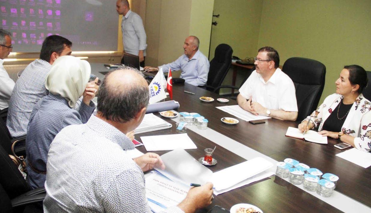 Gebze'de Metro Projesi masaya yatırıldı