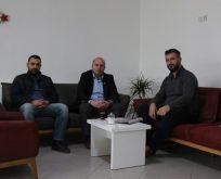 """MHP ilçe Başkanı Düzdaban'dan """"Kocaeli'de Bugün'e hayırlı olsun """" ziyareti"""