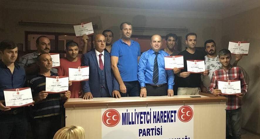 MHP Çayırova'da Mahalle Başkanları Atandı
