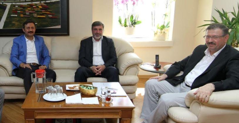 Milletvekillerinden Bayram'a ziyaret