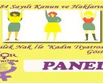 '25 Kasım Kadına Karşı Şiddetle Mücadele Günü'dür'