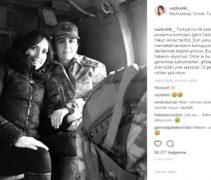 Nazlı Çelik, Çekim Yaptığı Yarbay Songül Yakut'un Şehadet Haberiyle Yıkıldı