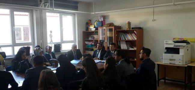 """Şehit Can Duyar İlkokulunda """"Okul Toplantısı"""""""