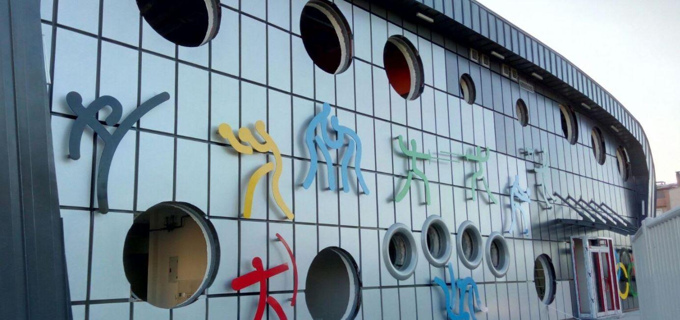 Çayırova'da ki Spor Salonu'nda sona doğru