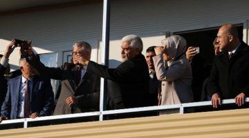 Katırcıoğlu, Kilis Öncüpınar Sınır Karakolunu ziyaret etti.