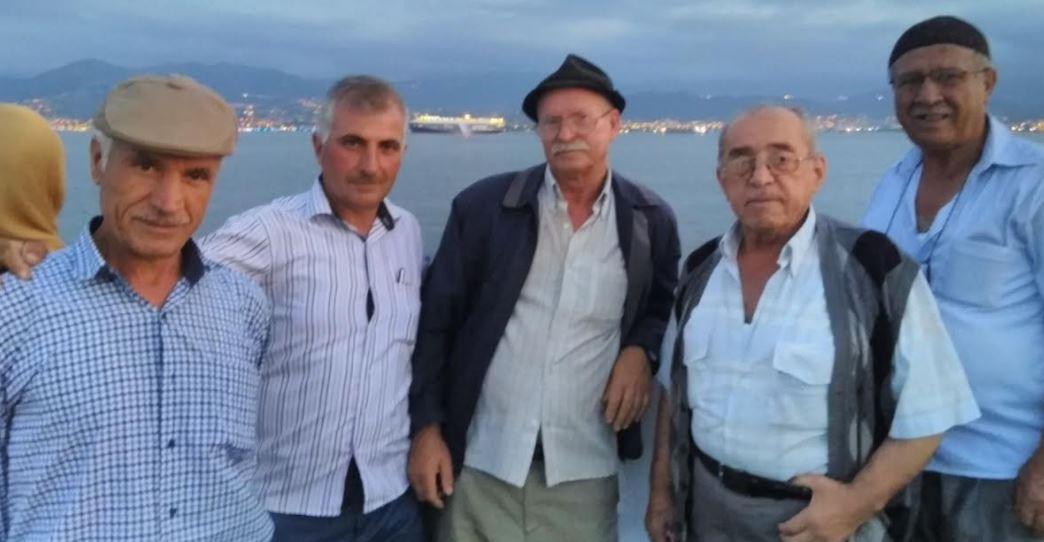 Ortaburun sakinleri mehtap turuna katıldı