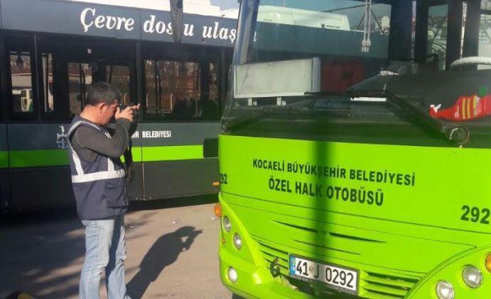 Saygısızlık yapan şoföre Büyükşehir cezayı kesti