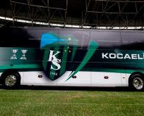 Büyükşehir'den Kocaelispor'a yeni takım otobüsü