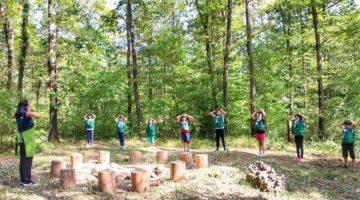 Ormanın Derinliklerinde Açık Havada Eğitim