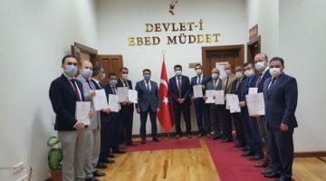Kaymakam Kara'dan okullara sertifika