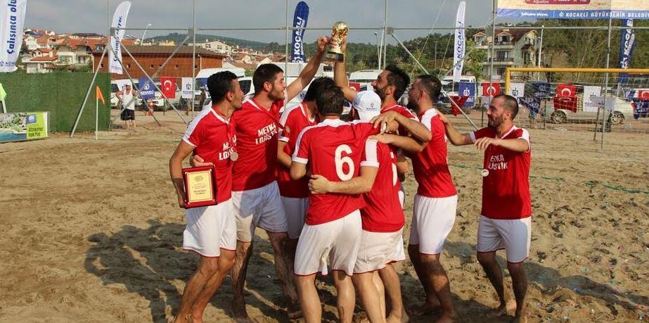 Plaj Futbolunda şampiyon belli oldu