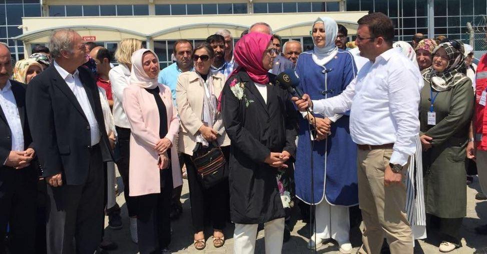 Aygün ve Katırcıoğlu, Silivri'ye Gitti