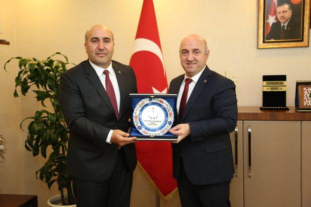 TÜMSİAD'dan Darıca Belediye Başkanı'na Ziyaret
