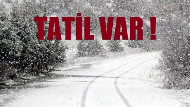 Okullar Tatil!