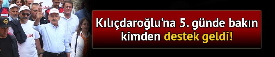 Kılıçdaroğlu'nun 'Adalet Yürüyüşü' 5. gününde