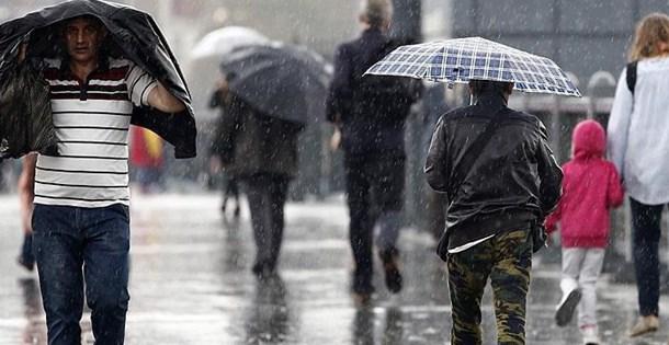 Kocaelililer Dikkat! Sağnak Yağış Geliyor