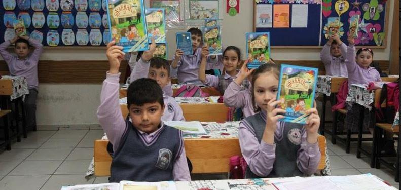 Gebzeli çocuklar kitaplarına kavuştu