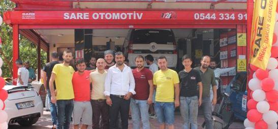 Sare Otomotiv Gebze'de açıldı!