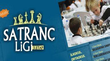 Satranç Ligi'nin Üçüncü etabı hafta sonu yapılacak