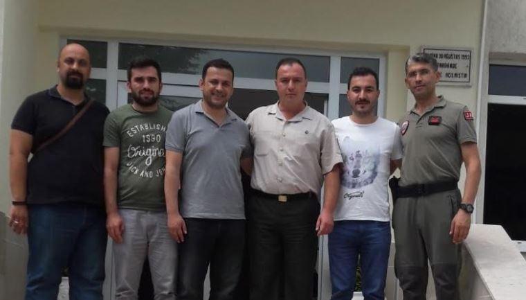 SEDAŞ'tan Derbent Jandarma Komutanına Ziyaret