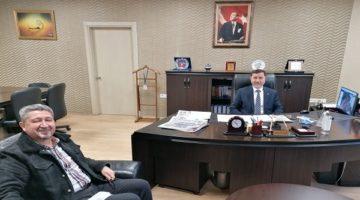 Şükür 'den Başkan yardımcısı Çelik'e ziyaret