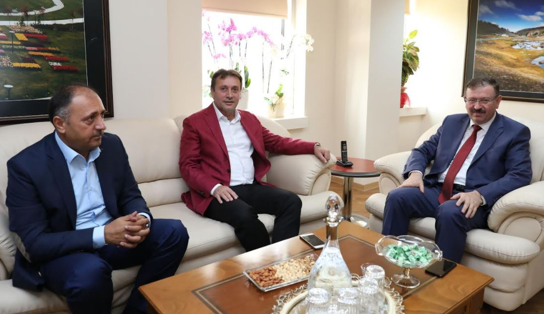 Demirci'den Genel Sekreter Bayram'a Ziyaret