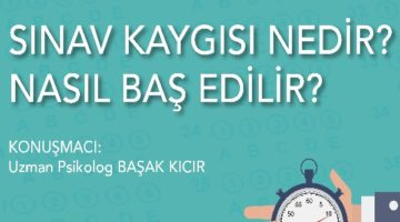 """Sınav kaygısı optimumda olmalı"""