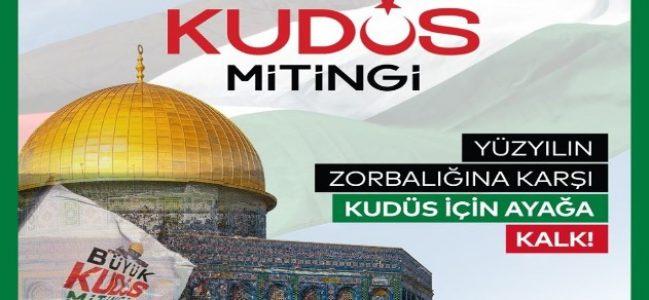 """""""Kudüs için birlik ve beraberliğimizi göstermeliyiz"""""""