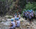 İzciler Serindere kanyonunu keşfetti